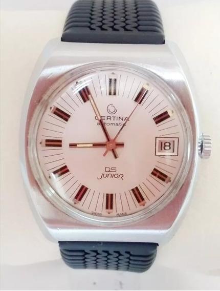 Reloj Certina Ds Automático Vintage Video