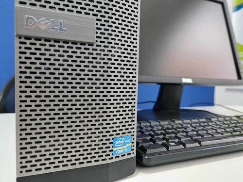 Desktop Dell Optiplex I3 Completo Com Monitor Led 4gb