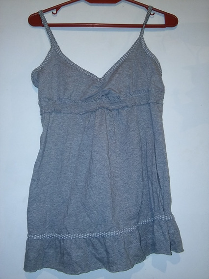 Remera Top Musculosa No Kosiuko Hollister Abercrombie