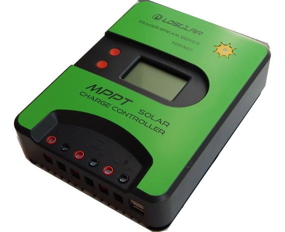Regulador Solar Mppt Max 30a 12v 24v Td2307 2 Usb 2a