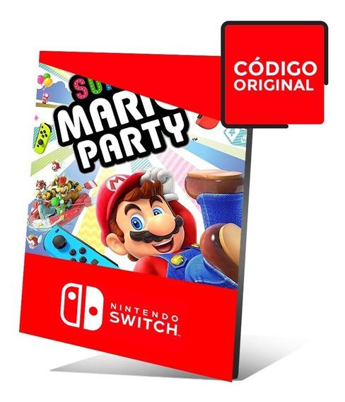 Super Mario Party - Jogo Nintendo Switch Digital - Sem Juros