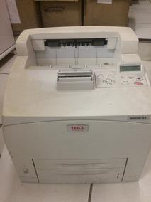 Impressora Laser Monocromática Oki B6500 Com Toner 22k