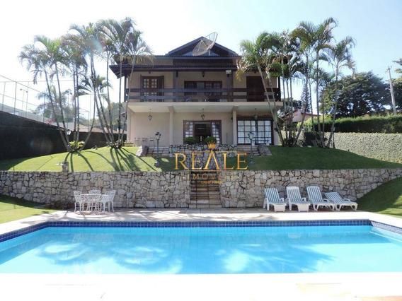 Casa À Venda, 400 M² Por R$ 1.800.000,00 - Condomínio Marambaia - Vinhedo/sp - Ca0348