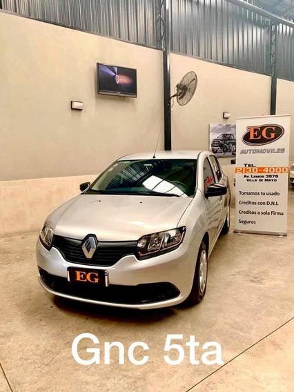 Renault Sandero 1.6 Exp Pack 2018 Gnc 5ta Eg Automoviles