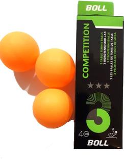 Pelota De Ping Pong Boll 40mm Pack X3 Pin Pon Planeta Juguet