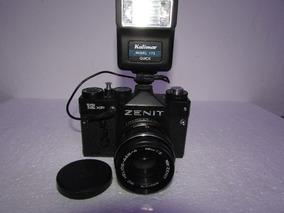 Maquina Fotografica Analogica Zenit 12xp Completa Made Ussr