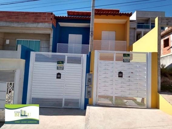 Casa Com 2 Dormitórios À Venda Por R$ 230.000,00 - Residencial Santo Antônio - Franco Da Rocha/sp - Ca0490