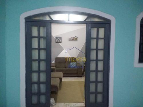 Casa Com 3 Dormitórios À Venda, 100 M² Por R$ 310.000,00 - Jardim Santa Inês I - São José Dos Campos/sp - Ca0151