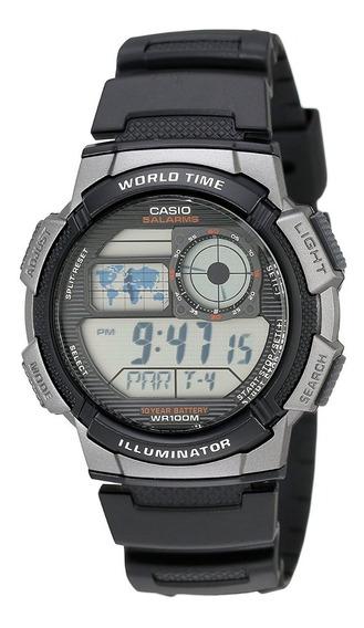 Reloj Digital Casio Para Hombre Mod. Ae-1000w-1bvcf (nuevo)