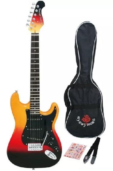 Combo Gypsy Rose Gre1k Guitarra Electrica Stratocaster