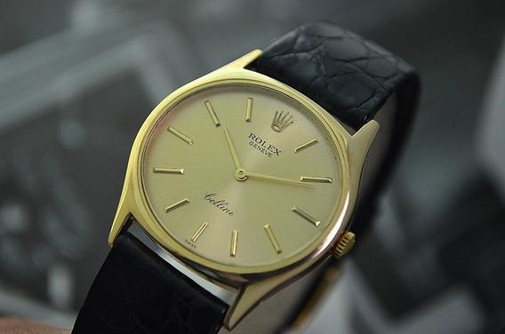 Rolex Cellini 18k Yellow Gold - Ref 3806 - Lindo Modelo