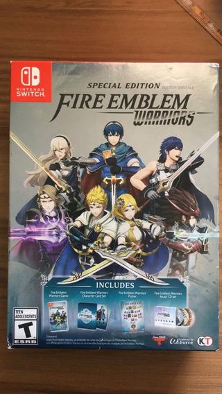 Fire Emblem Warriors (edição Especial) - Switch - Novo