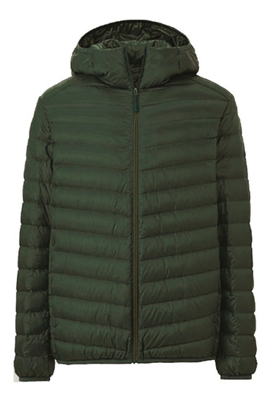Campera Inflable Unisex Con Capucha