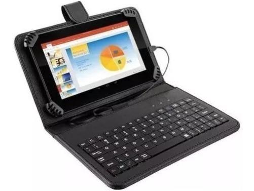 Tablet Multilaser M7s Plus Nb283, 7 , C/ Teclado Preto
