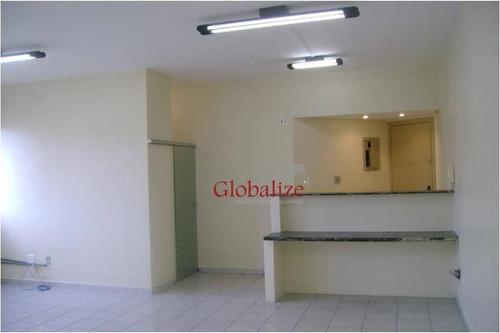 Sala Comercial Na Vila Matias - Sa0020