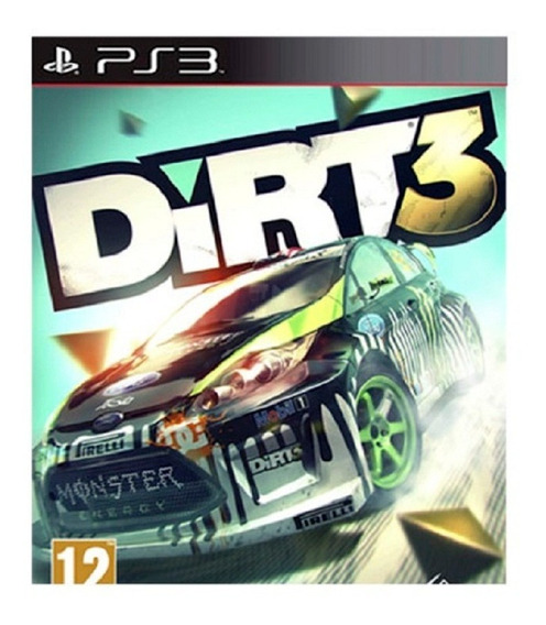 Dirt 3 Ps3 Play3 Dirt3 Pronta Entrega Jogos Playstation 3