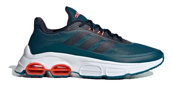 Zapatillas adidas Running Hombre Quadcube Azul - Coral Cli