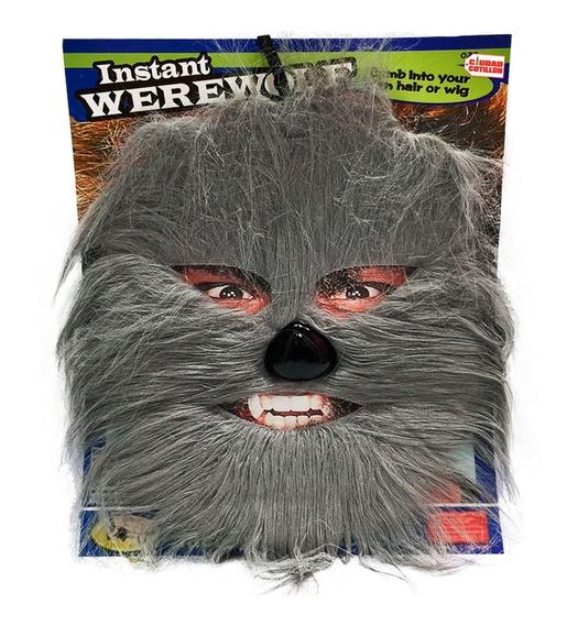 Máscara Hombre Lobo Disfraz Halloween - Ciudad Cotillón
