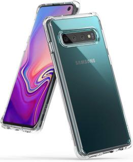 Capa Galaxy S10 (6.1) | Ringke Fusion + 2x Películas Ringke