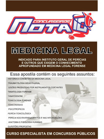 Apostila De Medicina Legal - Concursos Públicos
