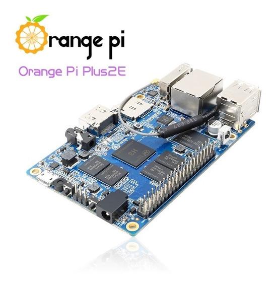 Orange Pi Plus 2e H3 Quad Core 2gb Ram 4k Open-source Pc