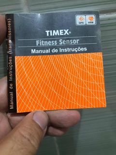 Manual Do Transmissor Fitness Sensor Timex Cardíaco Speed +.
