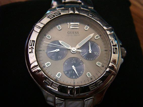 Reloj Guess Steel 185407g1 100% Original