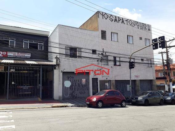 Salão Para Alugar, 200 M² Por R$ 5.000/mês - Penha De França - São Paulo/sp - Sl0023
