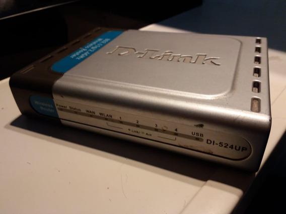 Roteador Wireless D-link Di-524 Up - Sem Fonte E Antena