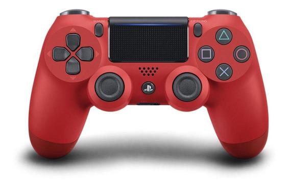 Controle Sem Fio Dualshock 4 Sony Para Ps4 Vermelho