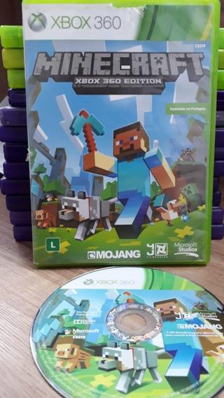 Minecraft - Xbox 360 - Midia Fisica Em Cd Original Semi Novo