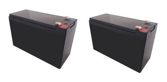 Kit 2 Baterias Para Pulverizador Costal Elétrico Superagri