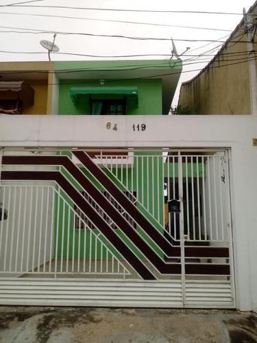 Imagem 1 de 15 de Sobrado Para Venda Por R$560.000,00 Com 125m², 3 Dormitórios, 2 Vagas E 1 Banheiro - Itaquera, São Paulo / Sp - Bdi35660