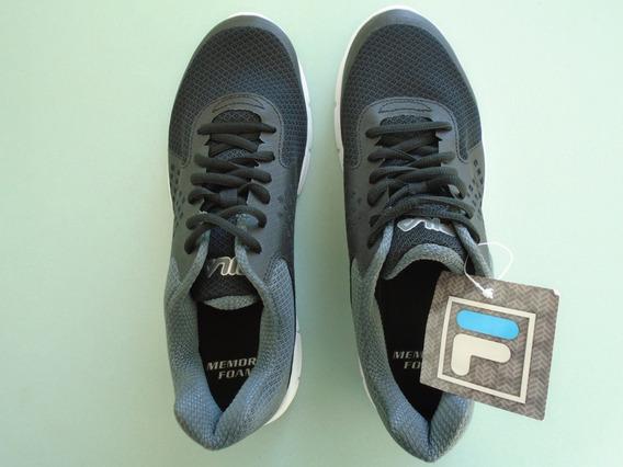 Fila Memory, Zapatillas De Running, Negro Talla 8 Americana