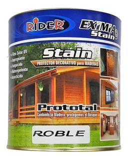 Protector Para Madera Rider Prototal Stain 20 Litros