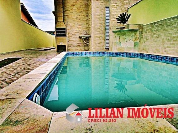 Casa Nova Com Piscina / Itanhaém - 567