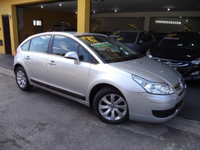 Citroën C4 Ht Glx 1.6 Flex 2010 Prata Completo Novíssimo!!!