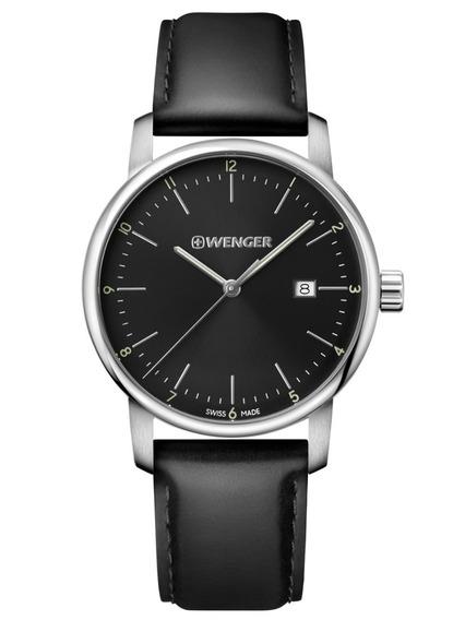 Relógio De Pulso Suíço Wenger Urban Classic 42mm 01.1741.110