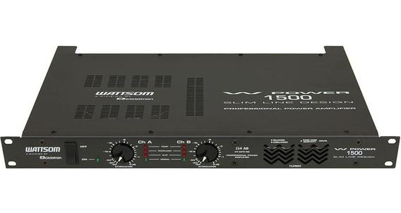 Amplificador Potencia Wattsom 375 Wrms Wp1500