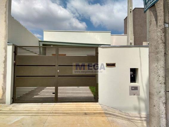 Casa Residencial À Venda, Parque Jambeiro, Campinas. - Ca0564