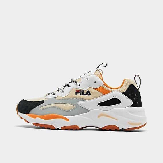 Tenis Fila Ray Tracer Casual Shoes Hombre Comodos Flexibles