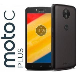Celular Moto C Plus 16gb Hd 5 Audífonos+estuche