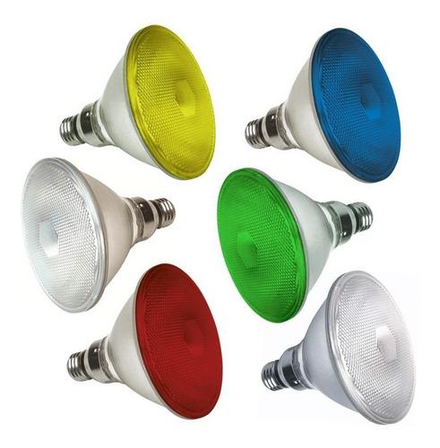 Lâmpada Par 38 Halogena Colorida Ou Branca - Grande Potência