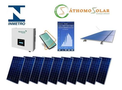 Kit Solar 3,4 Kwp 10 Painéis - Não Pague Mais Conta De Luz!