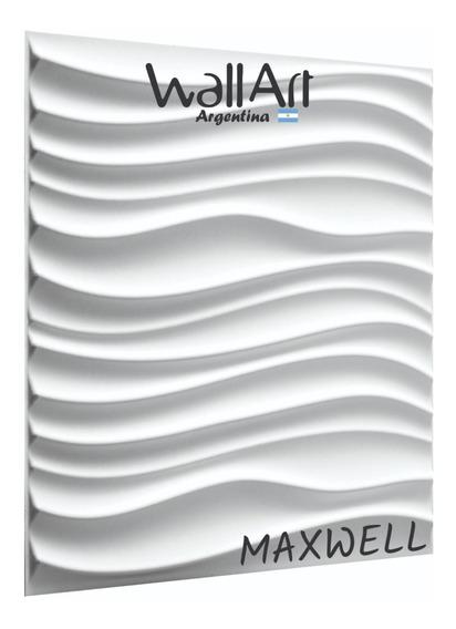 3m2 Placa 3d Decor. 50x50 Maxwell Envio Gratis Sin Interes