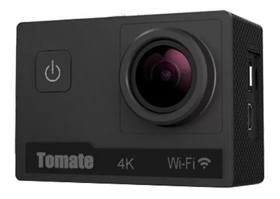 Câmera De Ação 4k Wifi Mt1091+ Cartão Sd 32gb +bateria Extra