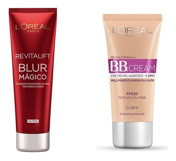 Bb Cream Loréal Paris + Revitalift Blur Mágico Aperfeiçoador