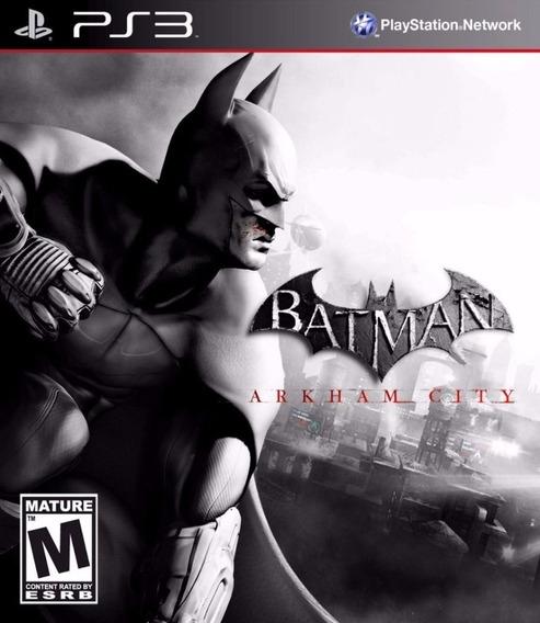 Batman Arkham City Ps3 (mídia Fisica)
