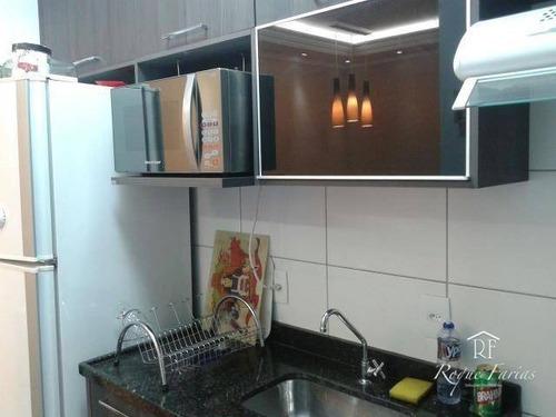 Imagem 1 de 17 de Apartamento Residencial À Venda, Jardim D Abril, Osasco - Ap1654. - Ap1654