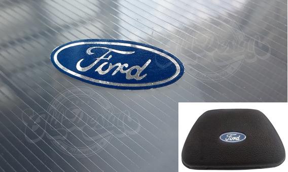 Adesivo Ford Centro Volante Escort Xr3 L Gl 1.8 Estampado